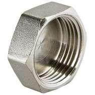 """Заглушка резьбовая никель 1 1/2"""" VALTEC, фото 1"""