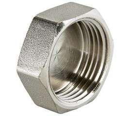 """Заглушка резьбовая никель 3/4"""" VALTEC, фото 1"""