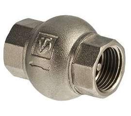 """Обратный клапан с латунным золотником 3/4"""" VALTEC, фото 1"""