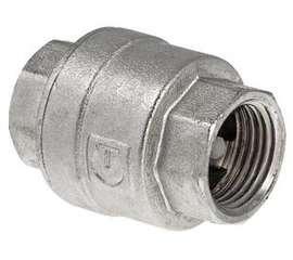 """Обратный клапан никелированный 1 1/4"""" VALTEC, фото 1"""
