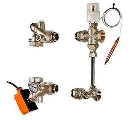 Насосно-смесительный узел для теплого пола DUALMIX 130 мм VALTEC, фото 1