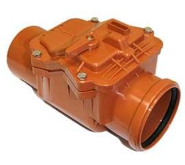 Клапан обратный наружн. канализация D 110, фото 1