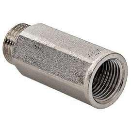 """Удлинитель никель 1/2""""x10 VALTEC, Размер резьбы: 1/2""""x10, фото"""
