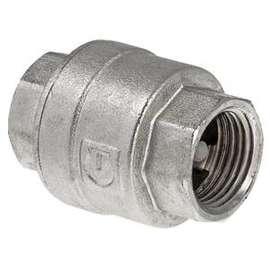 """Обратный клапан никелированный 1 1/4"""" VALTEC, Размер: 1 1/4"""", фото"""