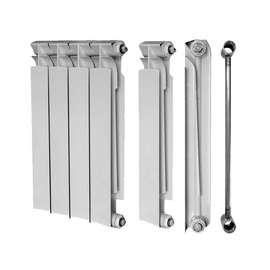 Радиатор биметалический TENRAD 500/80 10 секц., Количество секций: 10, фото