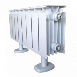 Радиатор алюминиевый TENRAD 150/120 10 секц., фото