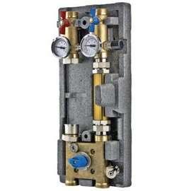 """Насосная группа с байпасом и трехходовым клапаном для с-м VARIMIX 1 1/4""""-3W-KV4 VALTEC, фото"""