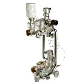 Насосно-смесительный узел для теплого пола COMBI 180 мм VALTEC, фото