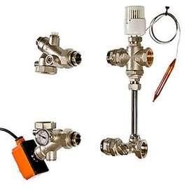 Насосно-смесительный узел для теплого пола DUALMIX 130 мм VALTEC, фото