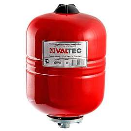 Бак расширительный для отопления 100 л красный VALTEC, Объем бака: 100 л, фото