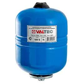 Бак расширительный для водоснабжения 8 л синий VALTEC, фото