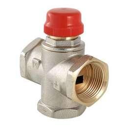 """Клапан трехходовой термостатический смесительный MR01 1"""" VALTEC, фото"""