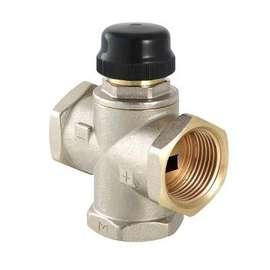 """Клапан трехходовой термостатический смесительный MR02 1"""" VALTEC, фото"""