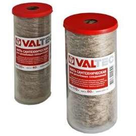 Нить сантехническая льняная , для резьб. соединений (55м) VALTEC, фото