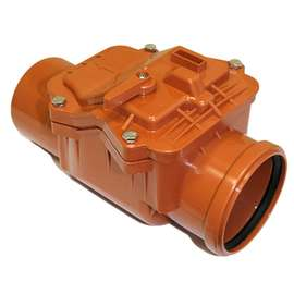 Клапан обратный наружн. канализация D 110, фото