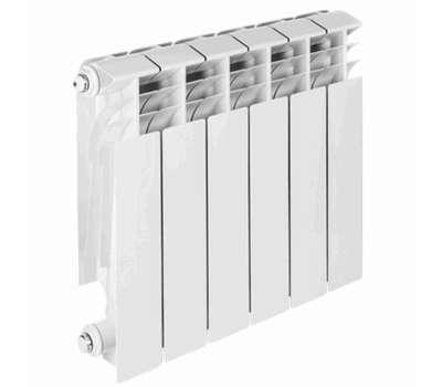 Радиатор алюминиевый TENRAD 350/100 8 секц., фото 1
