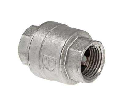 """Обратный клапан никелированный 1 1/2"""" VALTEC, фото 1"""