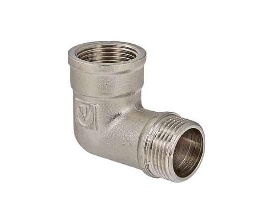 """Угольник ВР-НР никель 1"""" 90° VALTEC, Диаметр: 1"""", фото"""