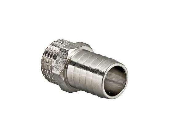 """Штуцер для шланга никель 1/2""""x10 VALTEC, Размер штуцера: 1/2""""x10, фото"""