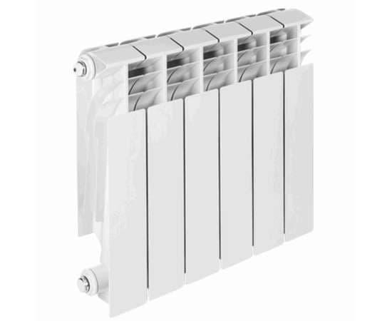Радиатор алюминиевый TENRAD 350/100 4 секц., Количество секций: 4, фото