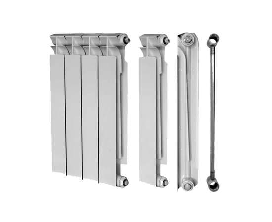Радиатор биметаллический TENRAD 500/80 6 секц., Количество секций: 6, фото