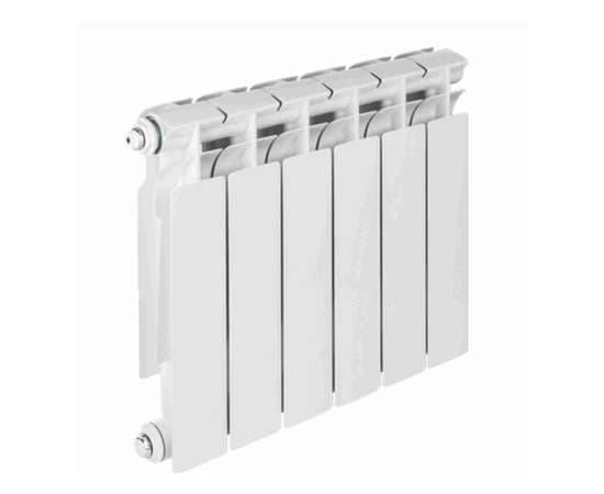 Радиатор биметалический TENRAD 350/80 8 секц., Количество секций: 8, фото