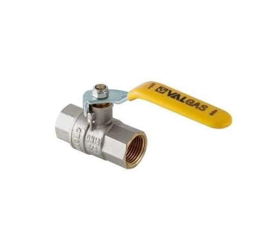 """Кран шаровой для газа VALTEC VALGAS ВН-ВН 1/2"""" ручка, фото 1"""