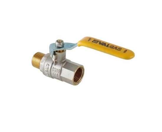 """Кран шаровой для газа VALTEC VALGAS ВН-НР 1/2"""" ручка, фото 1"""
