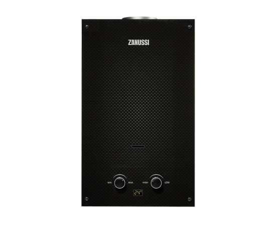 Газовая колонка ZANUSSI GWH10 Fonte Carbon 18.5 кВт, фото
