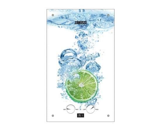 Газовая колонка ZANUSSI GWH10 Fonte Lime 18.5 кВт, фото