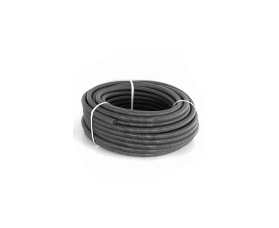 Труба Гофрированная CorrugatedPipe 25 черная HEISSKRAFT, фото