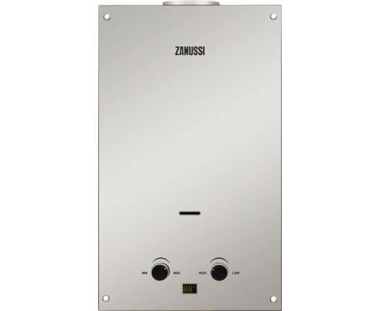 Газовая колонка ZANUSSI GWH10 Fonte Mirror 18.5 кВт, фото
