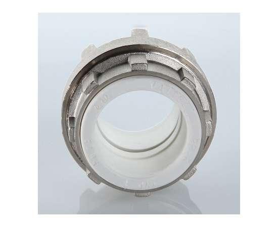 Муфта полипропиленовая разъемная 40 бел. VALTEC, Размер муфты ППР: 40, фото , изображение 2