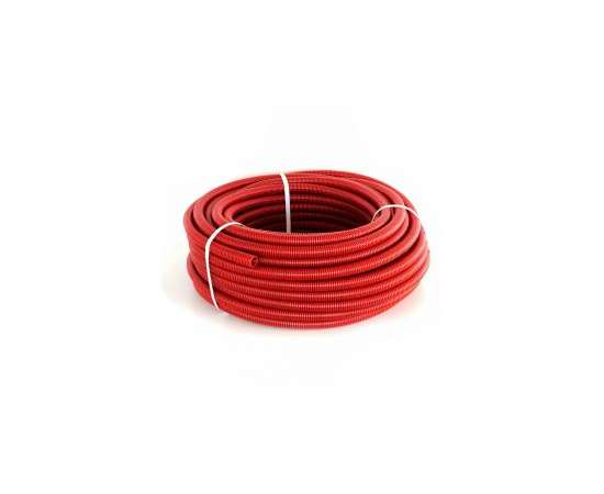 Труба Гофрированная CorrugatedPipe 25 красная HEISSKRAFT, фото