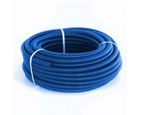 Труба Гофрированная CorrugatedPipe 25 синяя HEISSKRAFT, фото