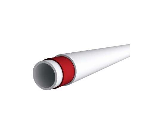 Труба полипропиленовая Ф75x10.3 PN20 бел. стекловолокно KALDE, фото , изображение 3