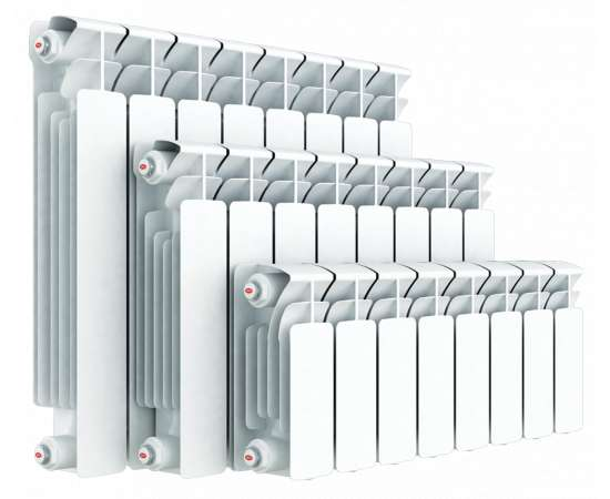 Радиатор биметаллический BASE 350 RIFAR  350/90 12 секц., Количество секций: 12, фото
