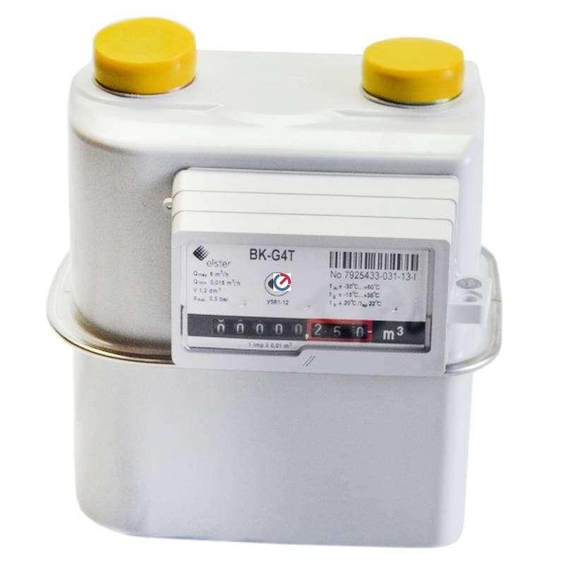 Счетчик газа BK-G4T (левый)
